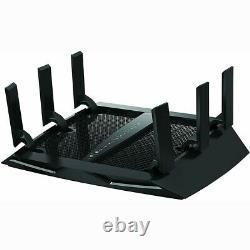 100% New For NETGEAR Nighthawk X6 AC3200 Tri-Band WiFi Router R8000-100NAS HOT