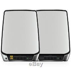 2 Pack Netgear Orbi Whole Home Tri-Band Wifi Mesh AX5700 WiFi 6 5.7Gps RBK842