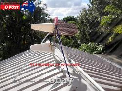 2x 698 2700 MHz Outdoor Antennas & 2x 5m cables for Netgear Optus 4G AC800s