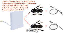 3G 4G LTE MIMO Omni Antenna for Netgear AirCard 781S 782S AT&T Unite Pro Hotspot