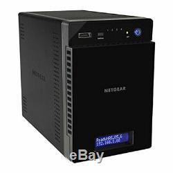 4 Bay NETGEAR ReadyNAS 214, Desktop NAS, Diskless, Quad Core ARM Cortex, 2GB RAM