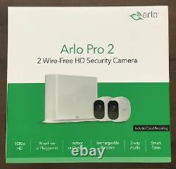 ARLO Pro Plus 2 VMS4230P Full HD 1080p WiFi Security System 2 Cameras