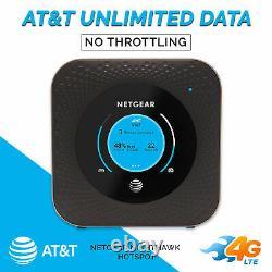 AT&T ENTERPRISE Data Plan and NETGEAR MR1100 Nighthawk 4G LTE Mobile Hotspot att