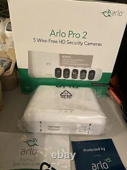 Arlo Pro 2 Home Security Camera System Fast FREE SHIP US Seller Batteries, Etc