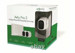 Arlo Pro 2 (VMS4230P) Security System with 2 Rechargeable 1080p Cameras White