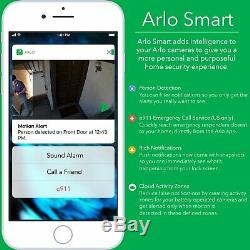 Arlo Pro 2 Wireless Home Security Camera System with Siren Rechargeable N