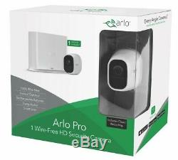 Arlo Pro Wire-Free HD Indoor Outdoor Wireless Home Security Camera Cloud Netgear