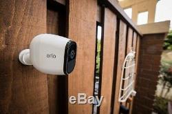 Arlo Pro Wireless Home Security 3 Camera System withSiren 2 Way Audio In Door