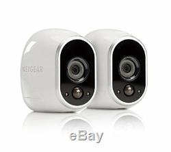 Arlo Security System, 2 Wire-Free HD Cameras Indoor/Outdoor Night Vision VMS3230