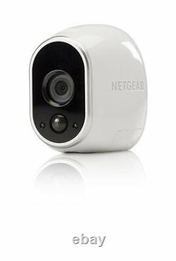 Arlo Smart Security Add-on HD Security Camera Wire-Free Indoor/Outdoor VMC3030