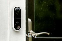 Arlo Video Doorbell Wired AVD1001-100NAS 180-degree viewing angle