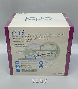 BRAND NEW Netgear Orbi Mini Router & Satellite Tri-Band WiFi System RBK22 AC2200