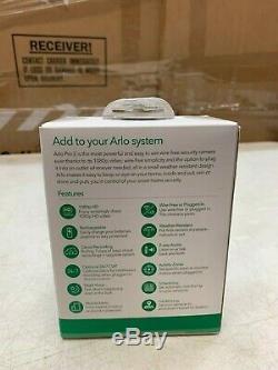 Brand New Arlo Pro 2 Add-on Wire-Free Camera 1080p