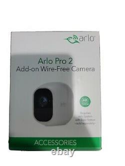 Brand New NETGEAR Arlo Pro 2 Wireless Security Camera White (VMC4030P-100NAS)