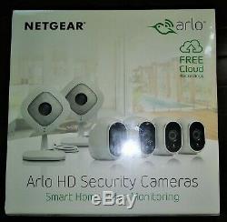 Brand New, Netgear ARLO HD Security Camera System, VMK3500-100NAS