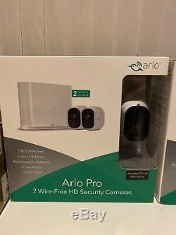 Brand New Netgear Arlo Pro 2 Camera Security System Vms4230 White