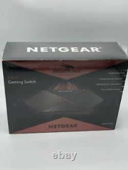 Gaming Switch NETGEAR Nighthawk Pro Gaming 8-port Switch GS810EMX / SX10 / 10G