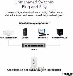 NETGEAR 10G Switch GS110MX 2 port 10 Gigabit / 8 port Multi-Gigabit