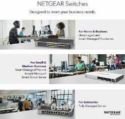 NETGEAR 16-Port GS316 Gigabit Ethernet Network Switch Hub Internet Splitter