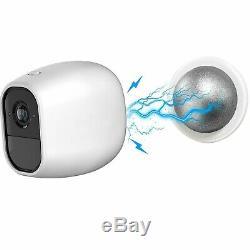 NETGEAR Arlo Pro 2 (1080P) Add On Wireless Security Camera + Magnetic Mount +