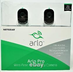 NETGEAR Arlo Pro 720p Security Camera Night Vision Indoor/Outdoor 2-Way Audio