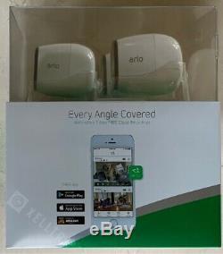NETGEAR Arlo Pro Smart Security Surveillance 3 Camera System with 4 Batteries