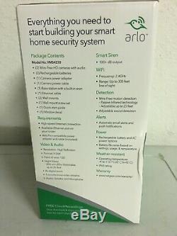 NETGEAR Arlo Pro VMS4230-100NAS, 2 Wireless Security Camera System withextra mount