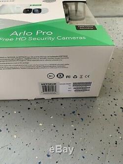 NETGEAR Arlo Pro VMS4230100NAS 720p Security Camera System With Bonus Mount