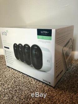 NETGEAR Arlo Ultra 4-wireless 4K HDR Security Camera White -VMS5440-100NAS NEW