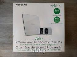 NETGEAR Arlo VMS3230 Wireless Indoor/Outdoor Security System 2 Cameras New