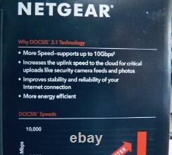 NETGEAR CM1150V BRAND NEW & FACTORY SEALED Multi-Gig Speed Cable Modem W. Voice