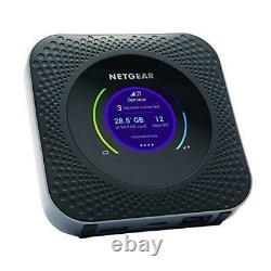 NETGEAR MR1100-100EUS Nighthawk 4G LTE Mobile Hotspot Router, Fastest Speeds for