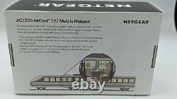 NETGEAR Mobile Wi-Fi Hotspot, 4G LTE Router AC797-100NAS, 400Mbps GSM Unlocked
