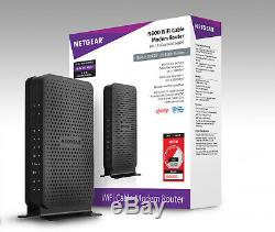 NETGEAR N600 (8x4) WiFi Cable Modem Router Combo DOCSIS 3.0, XFINITY Certified