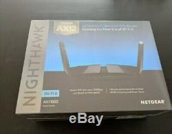 NETGEAR Nighthawk AX11000 Tri-Band AX12 12-Stream Wi-Fi 6 Router