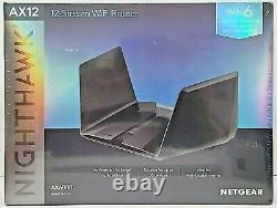 NETGEAR Nighthawk AX12 12-Stream AX6000 Wi-Fi 6 Router Brand New & Sealed