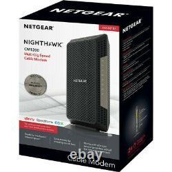 NETGEAR Nighthawk DOCSIS 3.1 WiFi 32x8 Cable Modem, CM1200