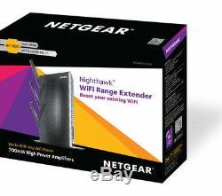 NETGEAR Nighthawk EX7000-100UKS WiFi Range Extender AC 1900, Dual-band Curry