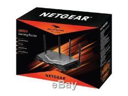 NETGEAR Nighthawk Pro Gaming Wi-Fi Router (XR500), AC2600 Dual-Band Quad Strea