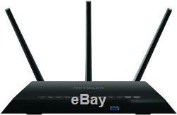 NETGEAR Nighthawk R7000 AC 1900 Dual Band Gigabit Wi-Fi Cable Router NEW +WRNTY