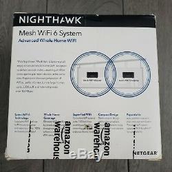 NETGEAR Nighthawk Whole Home Mesh WiFi 6 System AX1800