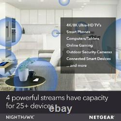 NETGEAR Nighthawk Whole Home Mesh WiFi 6 System MK63 AX1800 Router MK63-100UKS