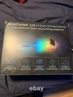 NETGEAR Nighthawk WiFi 6 Mesh Range Extender (EAX80) Add Up to 2, 500 Sq. Ft