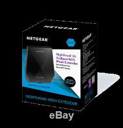 NETGEAR Nighthawk X6 AC2200 Tri-Band WiFi Mesh Extender EX7700-100AUS