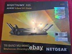 NETGEAR Nighthawk X6S Smart Wifi Router (R8000P)
