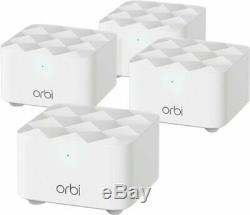 NETGEAR Orbi AC1200 Dual-Band Mesh Wi-Fi System (4-pack) White