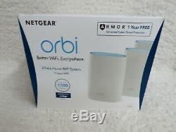 NETGEAR Orbi AC2200 Tri-Band Mesh Wi-Fi System (3-pack) White