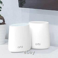 NETGEAR Orbi AC2200 Tri-band WiFi System RBK22100NAS