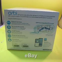 NETGEAR Orbi AC2200 Whole Home Mesh WiFi System Router + Extenders RBK23-100NAS