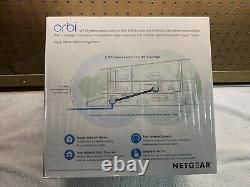 NETGEAR Orbi AC3000 Mesh WiFi System (RBK50-100NAS) New! (WR)